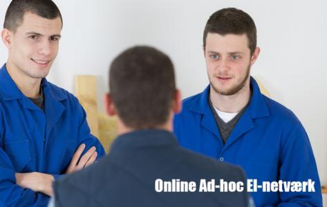 Online Ad-hoc netværk om Ladestandere
